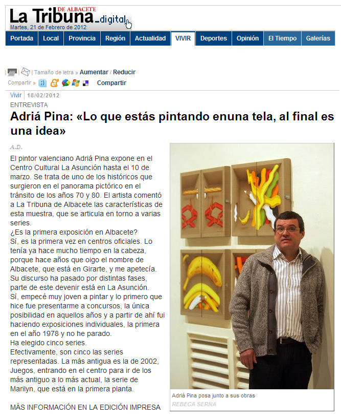 bibliografia Adrià Pina